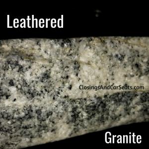 Leathered Granite Countertop