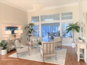 Coastal Living room interior design decor