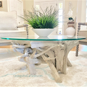 Coastal home Decor driftwood table