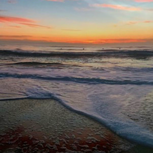 Jacksonville, Beach FL sunrise Jax Beach